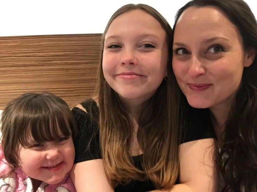 Mum and two daughters