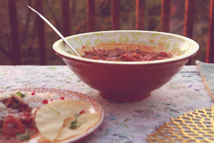 Sugarblush Salad bowl from Amara