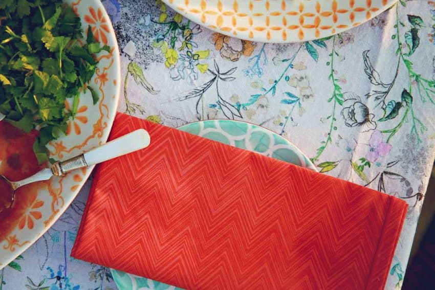 Sugarblush tableware from Amara