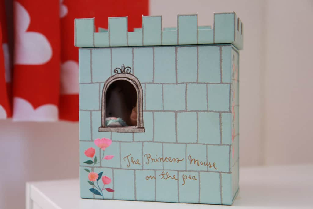 princess and the pea playset from Little Baby Company