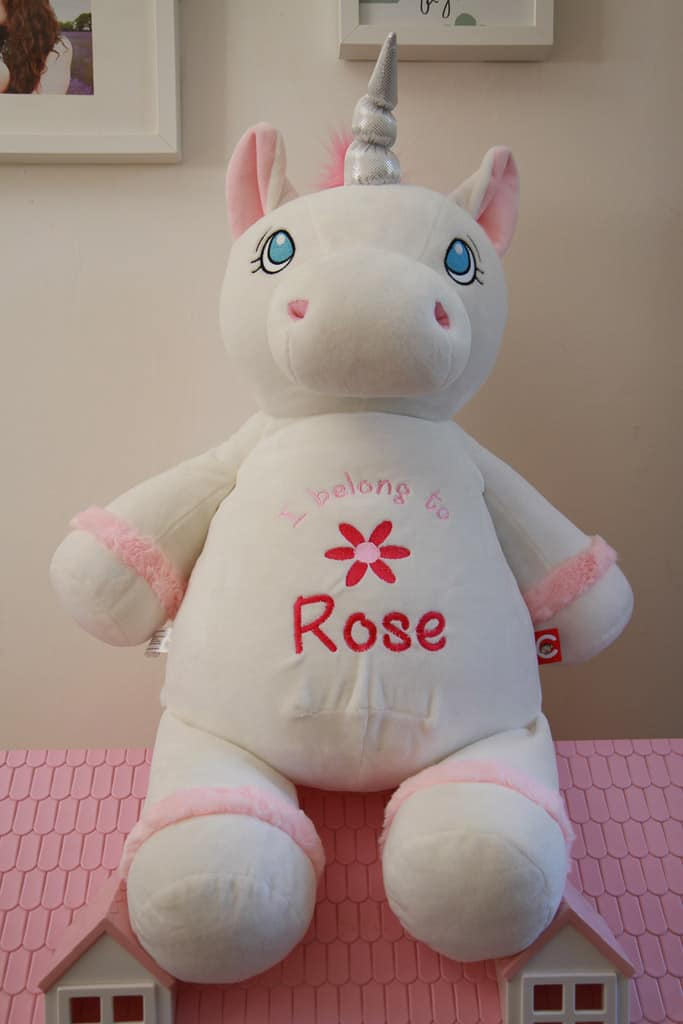Giant Personalised Unicorn from Getting Personal