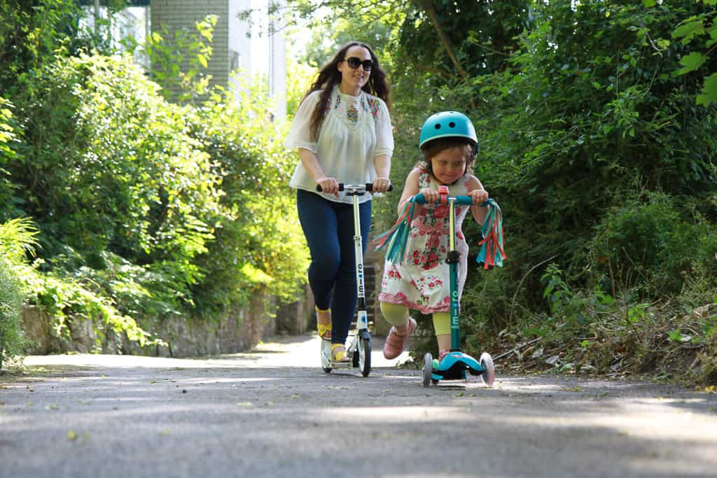 Adult and child micro scooters