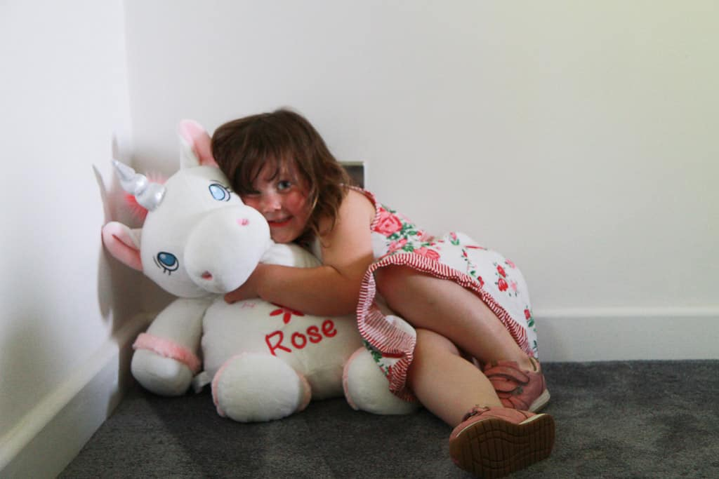Personalised giant unicorn from Getting Personal.co.uk