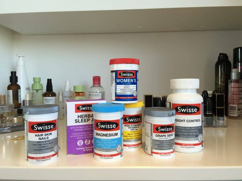 Selection of Swisse Vitamins