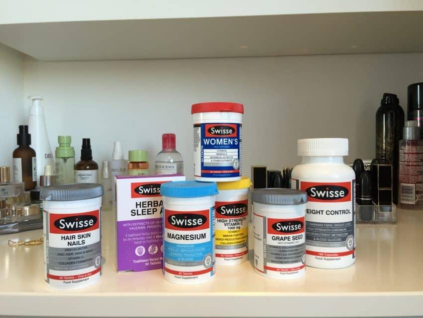 Selection of Swisse Vitamins