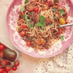 How to make vegan bolognese