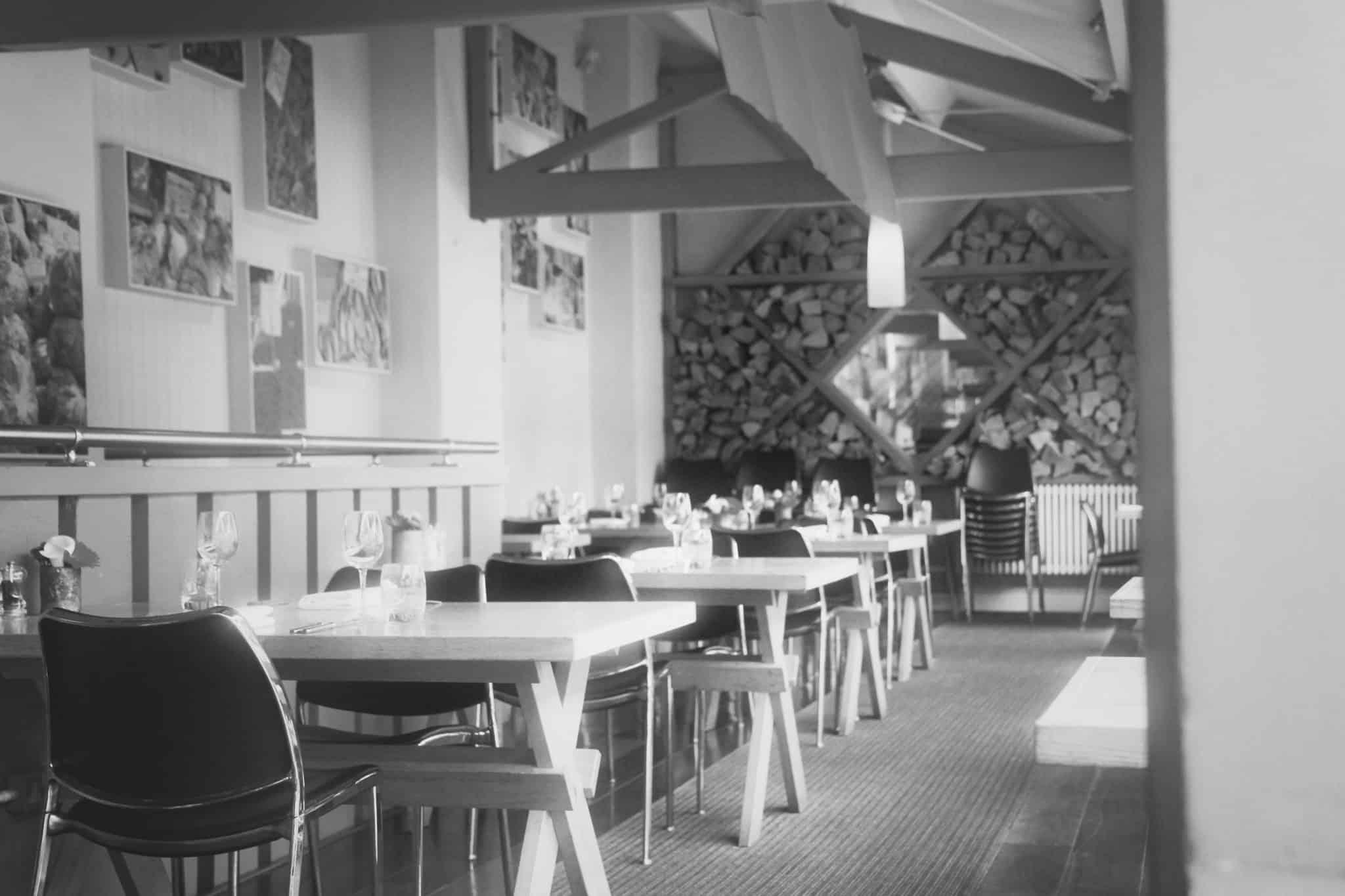 The restaurant at Clifton Lido Bristol