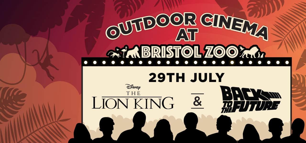 Outdoor cinema Bristol Zoo