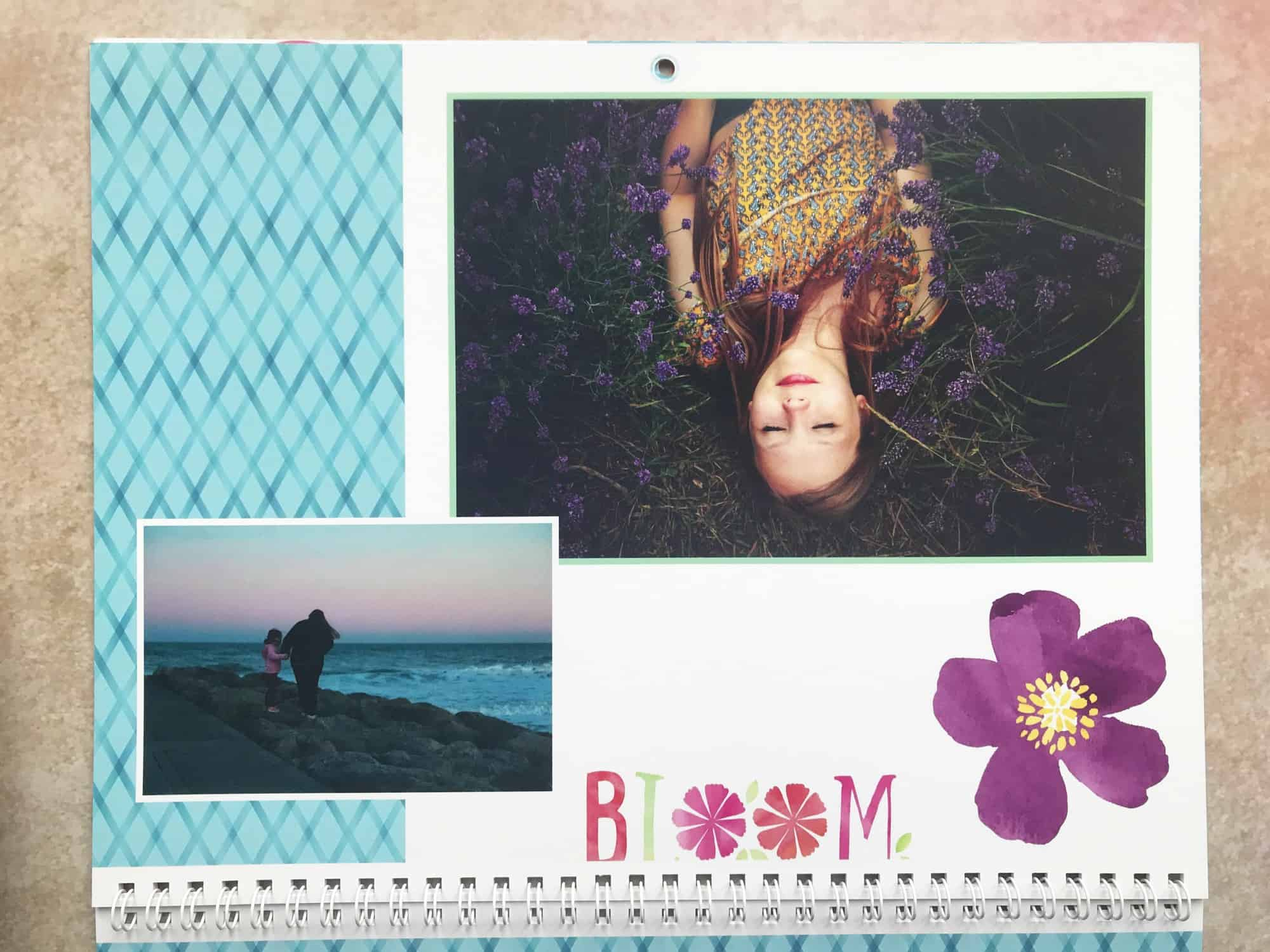 Snapfish photo calendar review