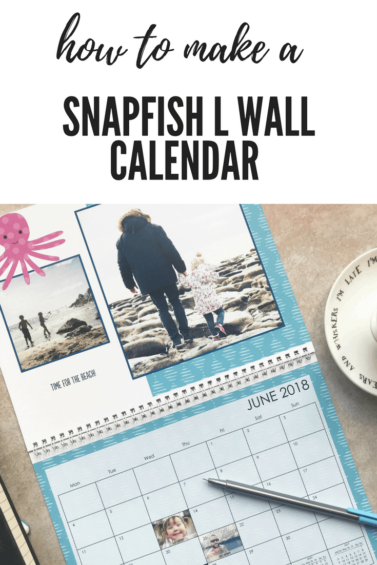 Snapfish has made it super quick and easy to put a photo calendar together. The online software is quick and responsive and walks you through each step so you really can't go wrong.