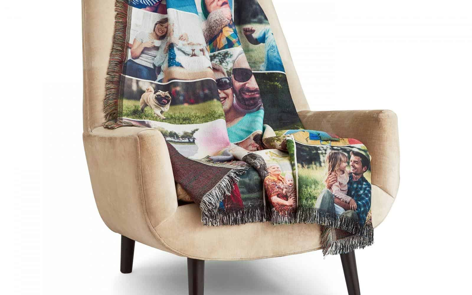 photo blanket from Collage.com