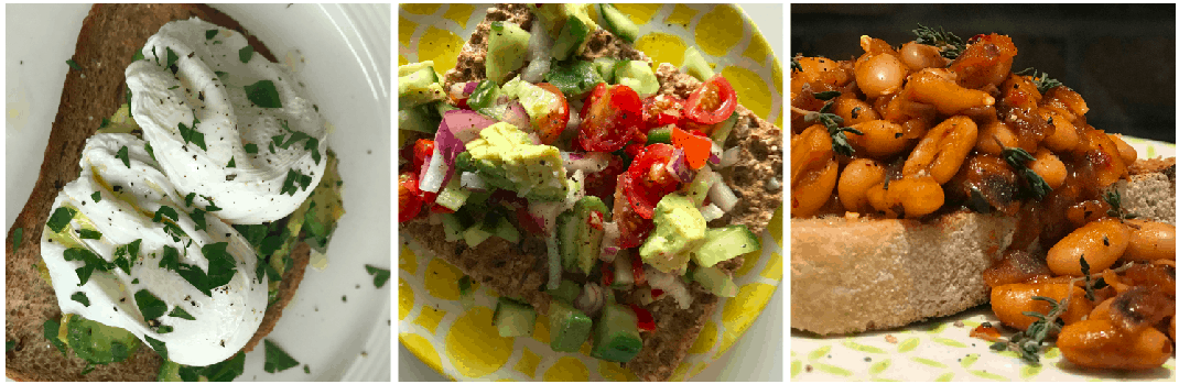 Breakfast, Lunch and Dinner on Weight Watchers Flex plan