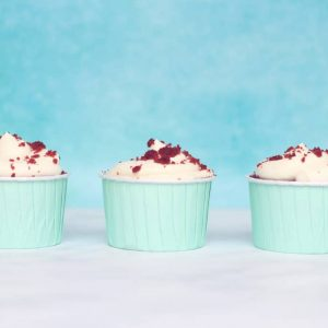 Weight Watchers Red Velvet Cupcakes 3 in a row