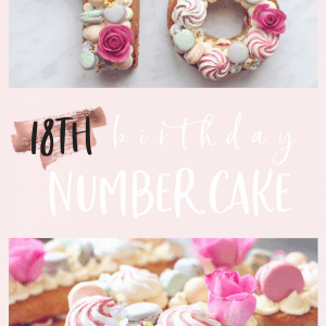 Step By 18th Birthday Cake Showstopper Recipe