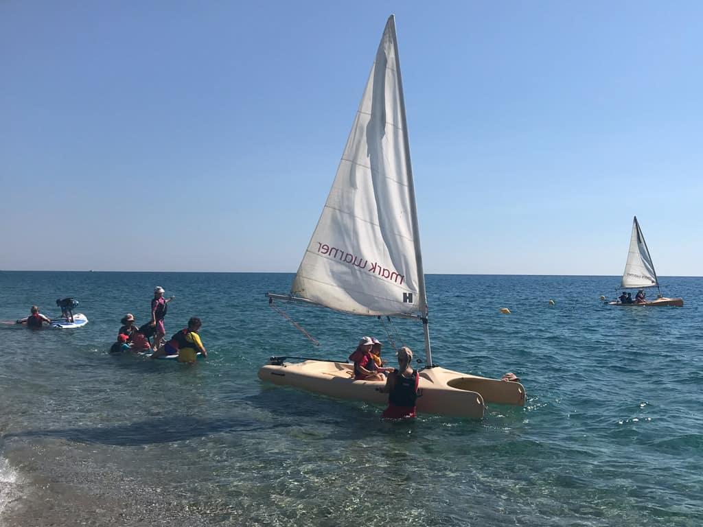 Sailing on a Mark Warner holiday