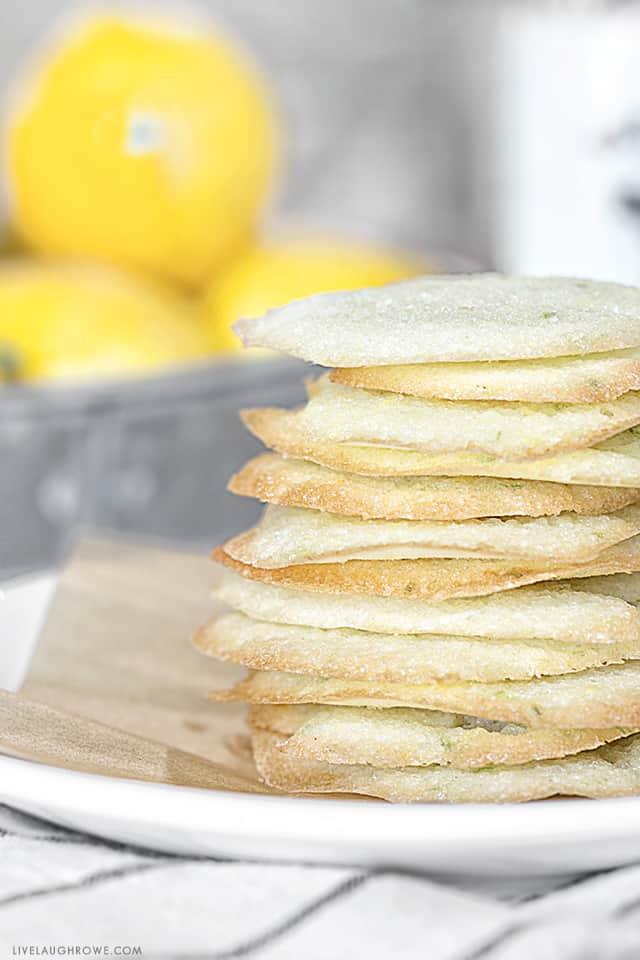 Weight Watchers Lemon Lime Cookie Crisps