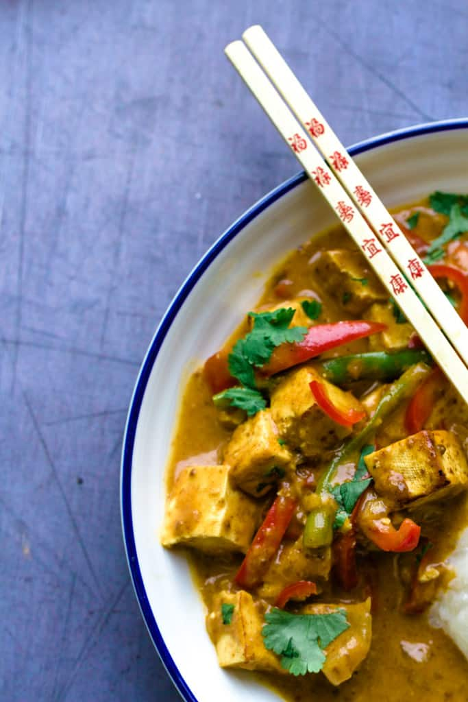 Tofu Satay Curry
