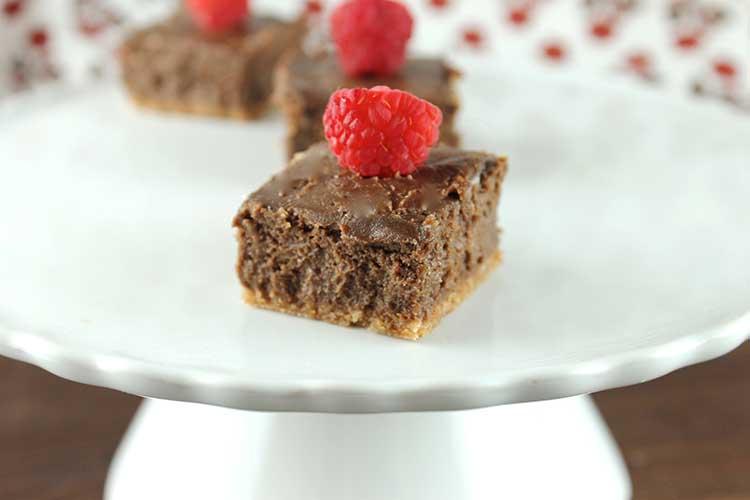 Weight Watchers No-Bake Skinny Chocolate Cheesecakes