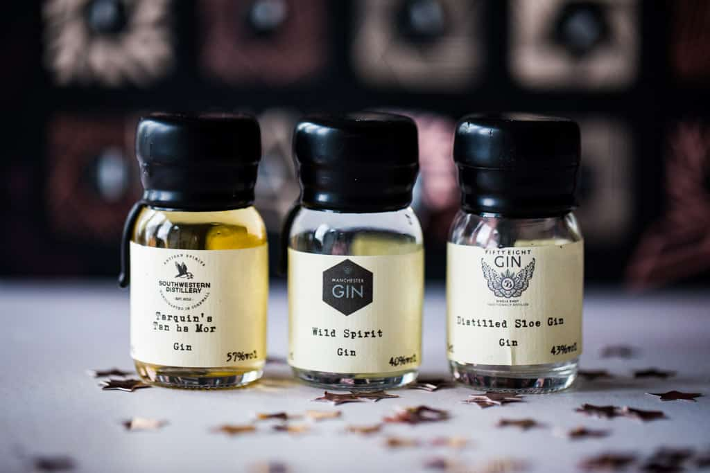 Drams of gin from Ginvent calendar