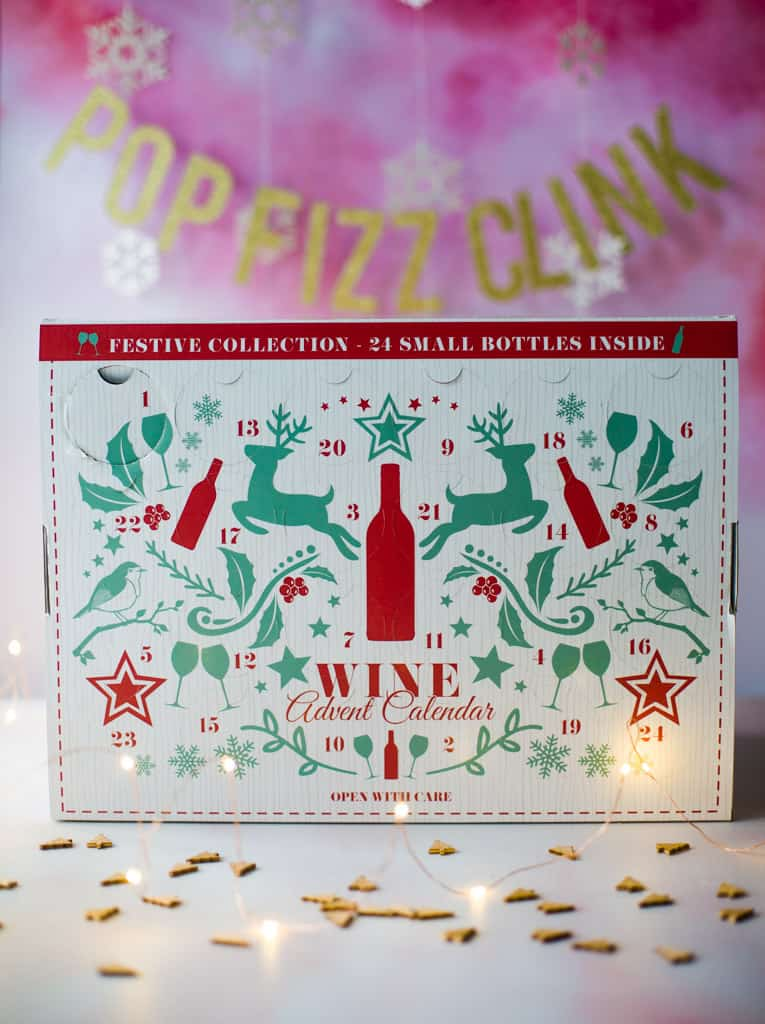 Wine advent calendar from Amazon