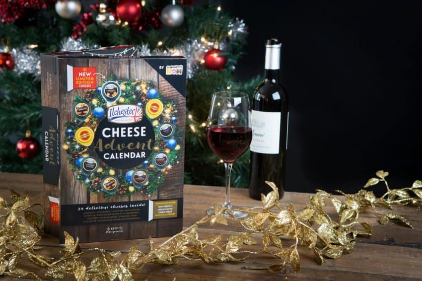 Cheese advent calendar