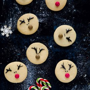 Reindeer vanilla biscuits
