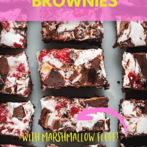 Wagon Wheel Brownies Pinterest image with text overlay
